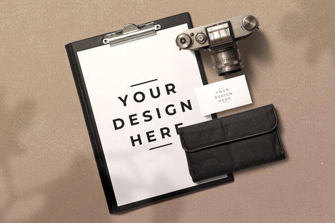 剪贴板与相机装饰模型