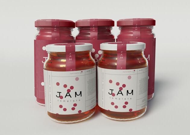 果酱罐模型