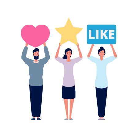 评级和评论.社交评估分数 媒体情感答案
