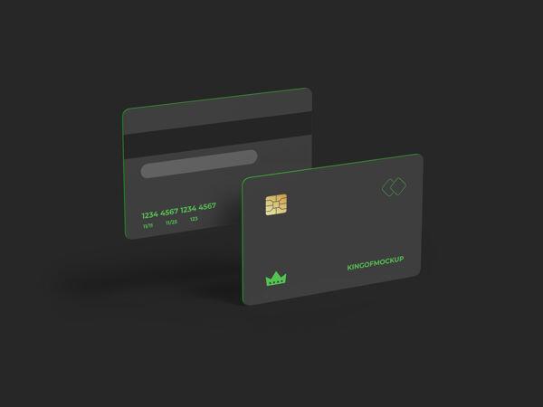 信用卡模型设计在三维渲染