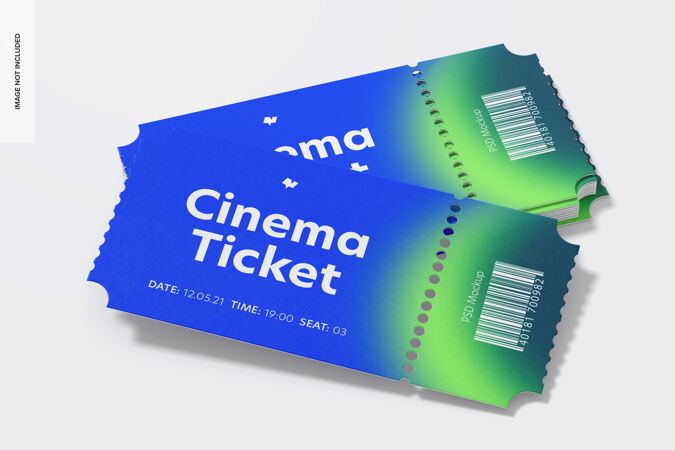 电影票模型