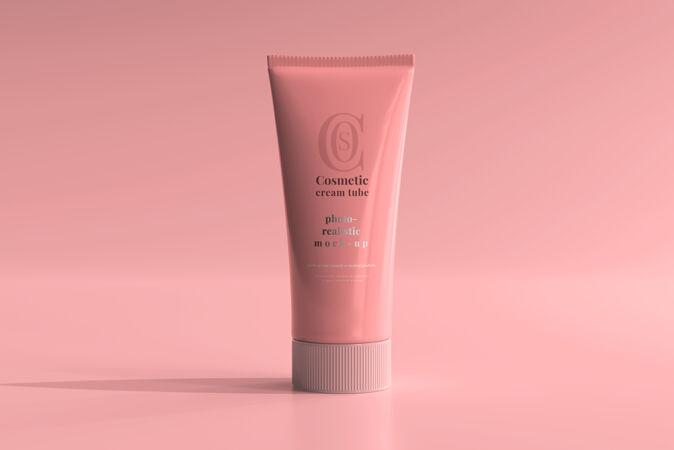 化妆霜管模型