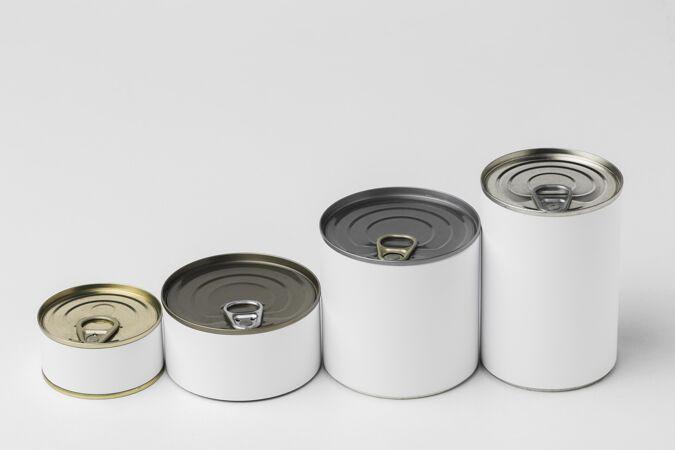 锡罐从小到大排列